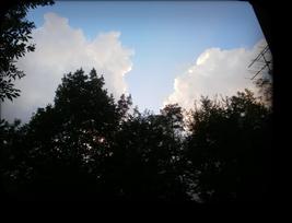 八ヶ岳の夏空